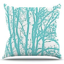 2017 Sale Trees by Monika Strigel Outdoor Throw Pillow