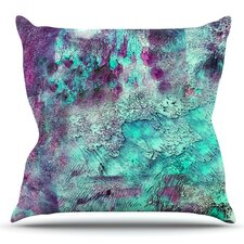 Wonderful Think Outside the Box by Sylvia Cook Outdoor Throw Pillow