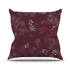 Ferns Vines by Laurie Baars Outdoor Throw Pillow
