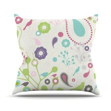 Bird Song Outdoor Throw Pillow