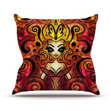 She Devil Full Outdoor Throw Pillow