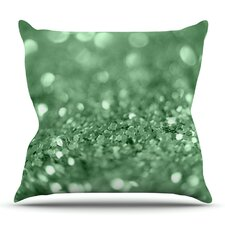 Lucky Shamrock by Beth Engel Outdoor Throw Pillow