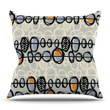 Benin by Gill Eggleston Outdoor Throw Pillow