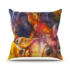 In Depth Outdoor Throw Pillow
