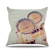 Sweet Summer Days Outdoor Throw Pillow