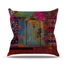 Ethnic Escape Outdoor Throw Pillow