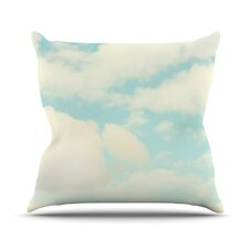 Clouds Outdoor Throw Pillow