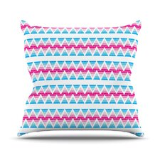 Swimming Pool Tiles Outdoor Throw Pillow
