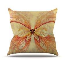 Papillon Outdoor Throw Pillow