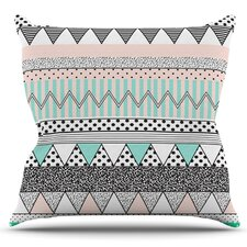Chevron Motif by Vasare Nar Outdoor Throw Pillow