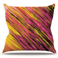 Set by Theresa Giolzetti Outdoor Throw Pillow