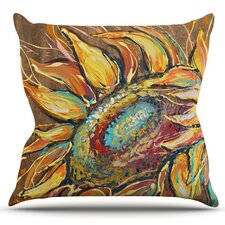 Sunflower by Brienne Jepkema Outdoor Throw Pillow