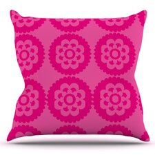 Moroccan by Nicole Ketchum Outdoor Throw Pillow