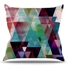 Splash by Gabriela Fuente Outdoor Throw Pillow