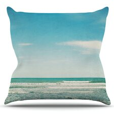 The Ocean by Susannah Tucker Outdoor Throw Pillow