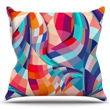 Versicolor by Danny Ivan Outdoor Throw Pillow