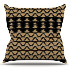 Deco Angles by Nina May Outdoor Throw Pillow