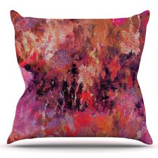 2017 Coupon Indian City by Nikki Strange Outdoor Throw Pillow