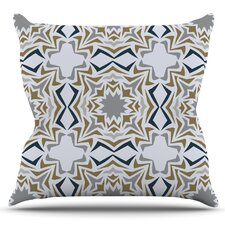 Ice Stars by Miranda Mol Outdoor Throw Pillow