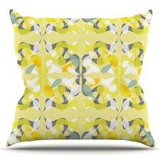 Spring Flourish by Miranda Mol Outdoor Throw Pillow