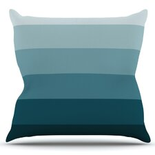 Cijan by Trebam Outdoor Throw Pillow