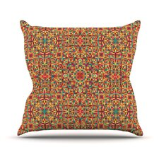 #2 Circus Outdoor Throw Pillow