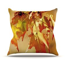 Autumn Leaves Outdoor Throw Pillow