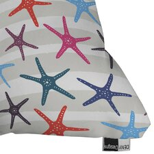 Zoe Wodarz Star Fish Outdoor Throw Pillow