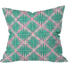 Zoe Wodarz Hot Tropic Pink Outdoor Throw Pillow