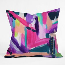 Laura Fedorowicz Tulip Abstract Outdoor Throw Pillow
