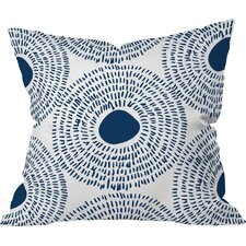 Camilla Foss Circles Ii Outdoor Throw Pillow