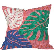 Zoe Wodarz Tropical Heatwave Outdoor Throw Pillow