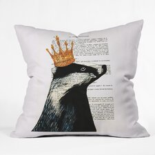 Coco De Paris Throw Pillow
