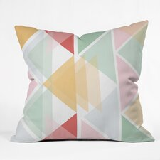Hello Twiggs Throw Pillow