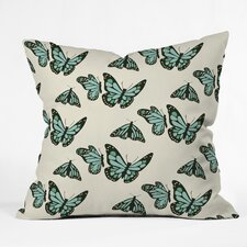 Morgan Kendall Monarch Butterflies Throw Pillow