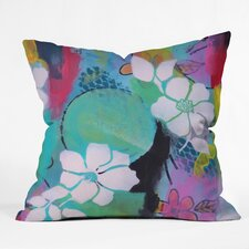 Natalie Baca Peace Love Aloha Throw Pillow