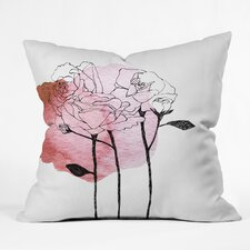 Today Only Sale Morgan Kendall Garden Roses Indoor/Outdoor Throw Pillow