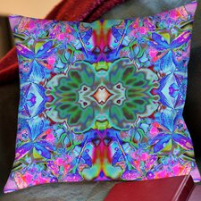 Orchids Square Outdoor Throw Pillow