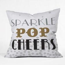 Best  Zoe Wodarz Sparkle Pop Cheers Indoor/Outdoor Throw Pillow