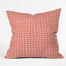 Leah Flores Throw Pillow