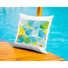 Owl Pattern Outdoor Throw Pillow