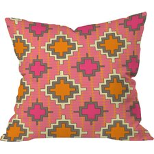 Sharon Turner Tangerine Kilim Outdoor Throw Pillow