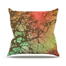 Skies by Alison Coxon Outdoor Throw Pillow