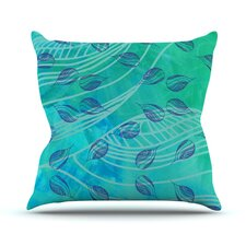 Sweet Summer Swim by Catherine Holcombe Outdoor Throw Pillow