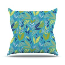 Underwater Bouquet Outdoor Throw Pillow