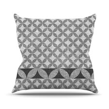 Diamond by Nick Atkinson Outdoor Throw Pillow