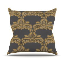 Decorative Motif by Nandita Singh Outdoor Throw Pillow