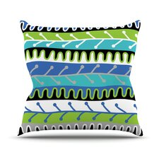 Salsa Outdoor Throw Pillow