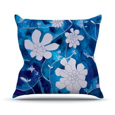 Succulent Dance by Theresa Giolzetti Outdoor Throw Pillow