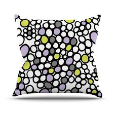 Pebbles Outdoor Throw Pillow